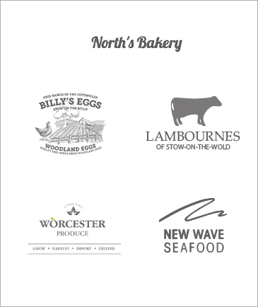 Logos of local Stow suppliers